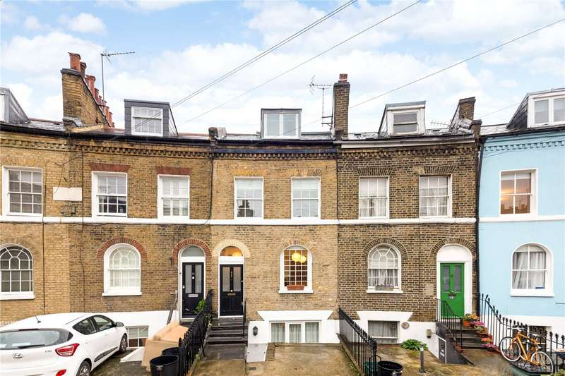 3 Bedrooms Terraced House for sale in Keystone Crescent, London, N1
