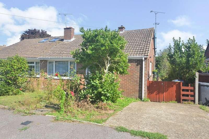 2 Bedrooms Semi Detached Bungalow for sale in Elmleigh Road, Littlebourne, Canterbury, Kent, CT3
