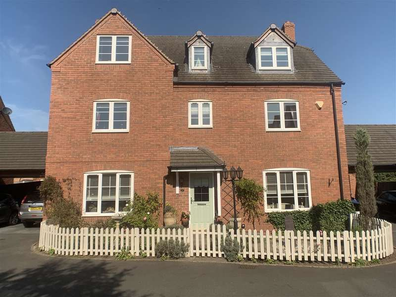5 Bedrooms Detached House for sale in Barbary Grange, Stafford