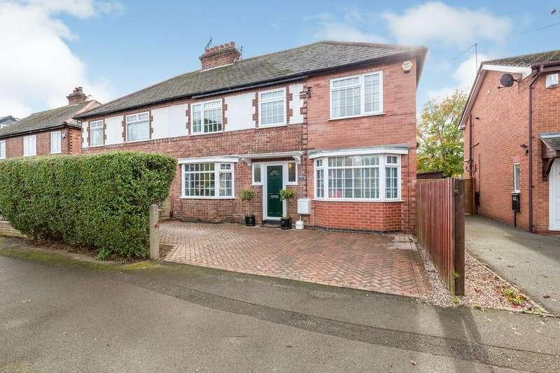 4 Bedrooms Semi Detached House for sale in Eltham Road, Westbridgford, Nottingham, Nottinghamshire, NG2