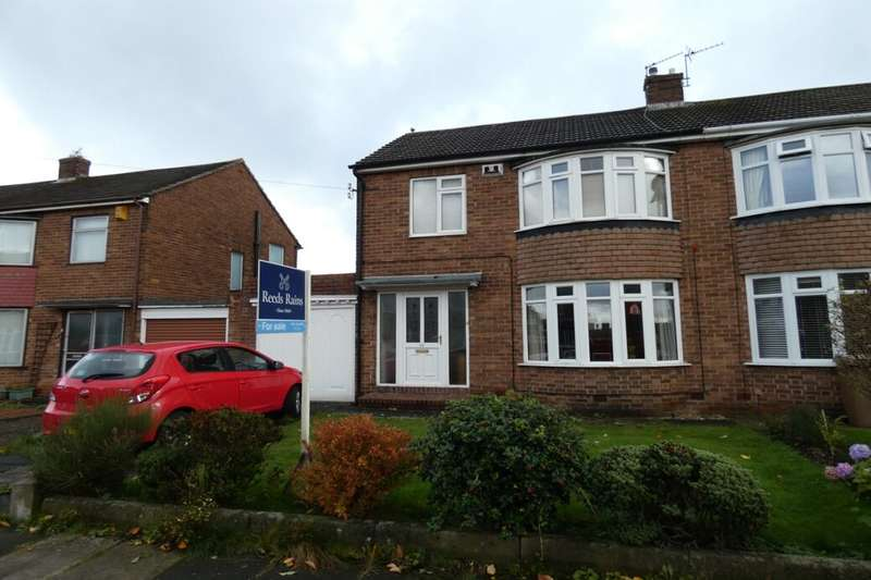 3 Bedrooms Semi Detached House for sale in Barrasford Drive, Wideopen, Newcastle Upon Tyne, NE13