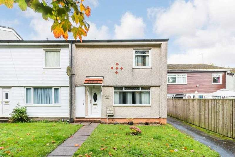 2 Bedrooms End Of Terrace House for sale in Mallard Terrace, Greenhills, EAST KILBRIDE