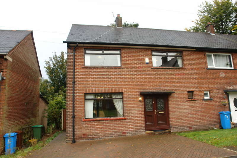 3 Bedrooms Semi Detached House for sale in All Saints Close, Royton
