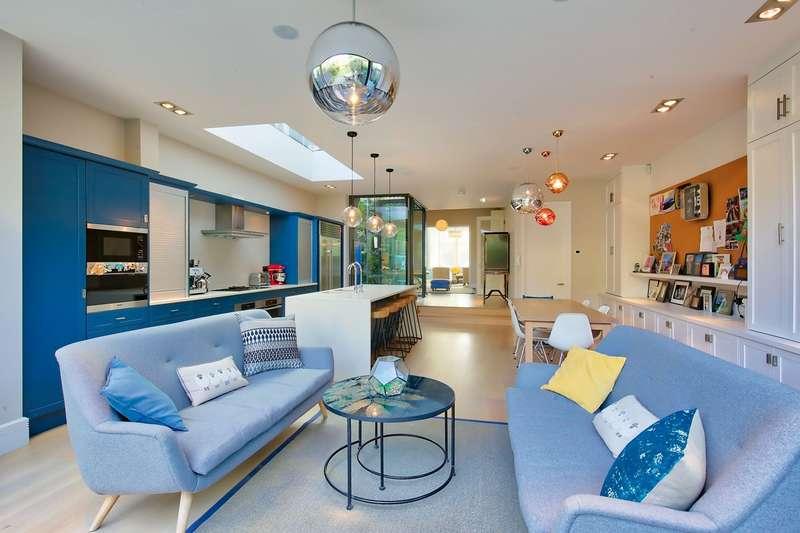 5 Bedrooms Semi Detached House for sale in Sudbrooke Road, London, London, SW12