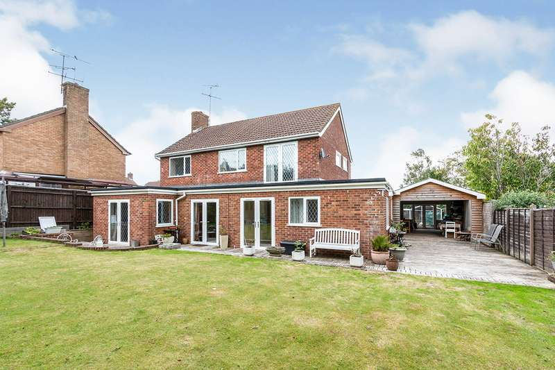 5 Bedrooms Detached House for sale in Camfield Close, Basingstoke, Hampshire, RG21
