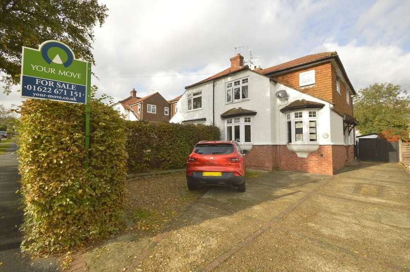4 Bedrooms Semi Detached House for sale in Palmar Road, Maidstone, Kent, ME16
