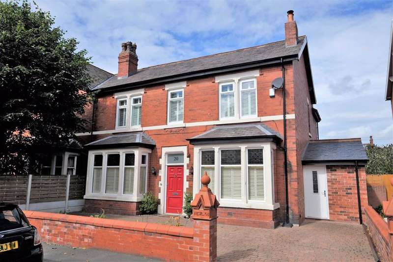 4 Bedrooms Semi Detached House for sale in Kensington Road, Ansdell, Lytham St Annes