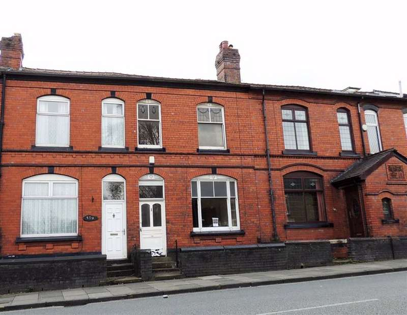 3 Bedrooms Terraced House for sale in Halliwell Road, Smithills, Bolton