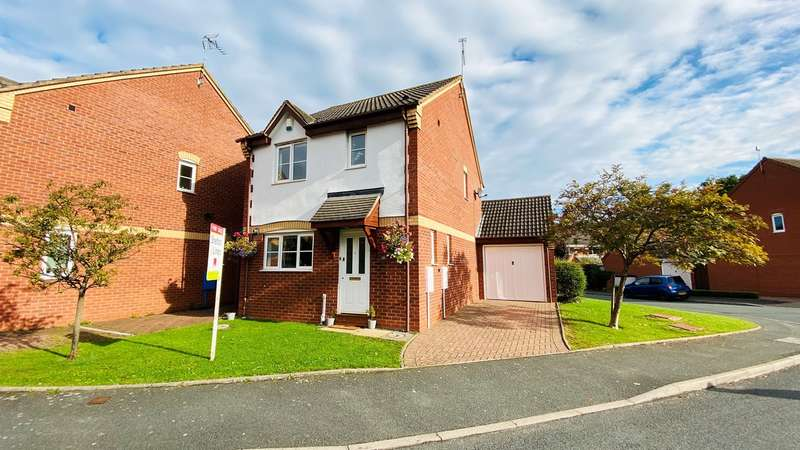 3 Bedrooms Link Detached House for sale in Fowler Avenue, Harley Bakewell, Worcester, WR4