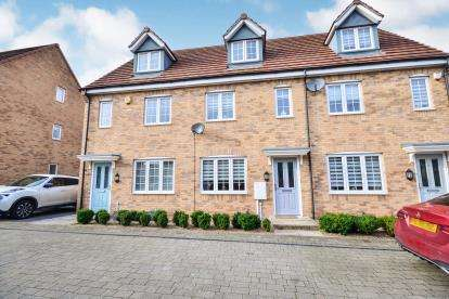 3 Bedrooms Terraced House for sale in Buckland Close, Sutton-In-Ashfield, Nottinghamshire, Notts