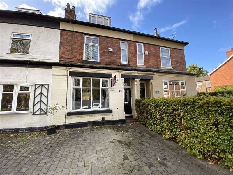 3 Bedrooms Terraced House for sale in Chorlton Green, Chorlton