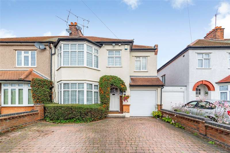 5 Bedrooms Semi Detached House for sale in Ingrebourne Gardens, Upminster, RM14