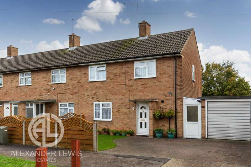 2 Bedrooms End Of Terrace House for sale in Caslon Way, Letchworth Garden City, SG6 4QL