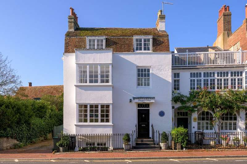 3 Bedrooms End Of Terrace House for sale in Prospect Cottage, The Green, Rottingdean, East Sussex