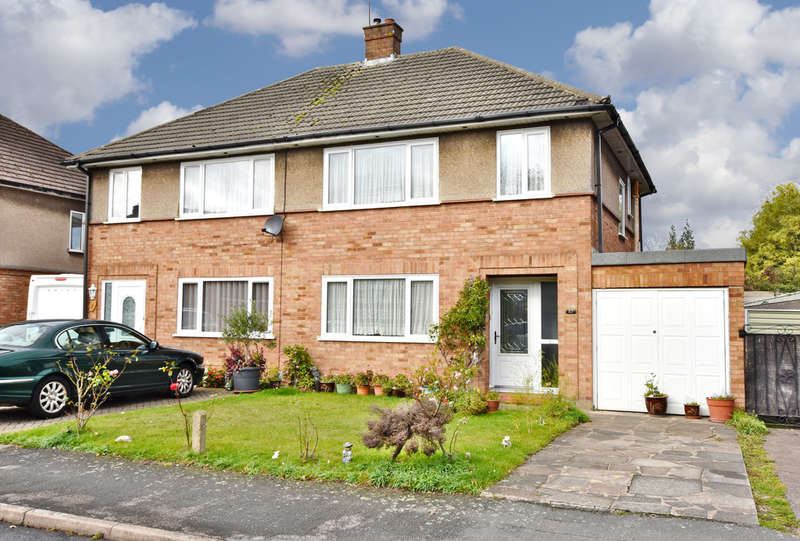 3 Bedrooms Semi Detached House for sale in Orbital Crescent, Watford