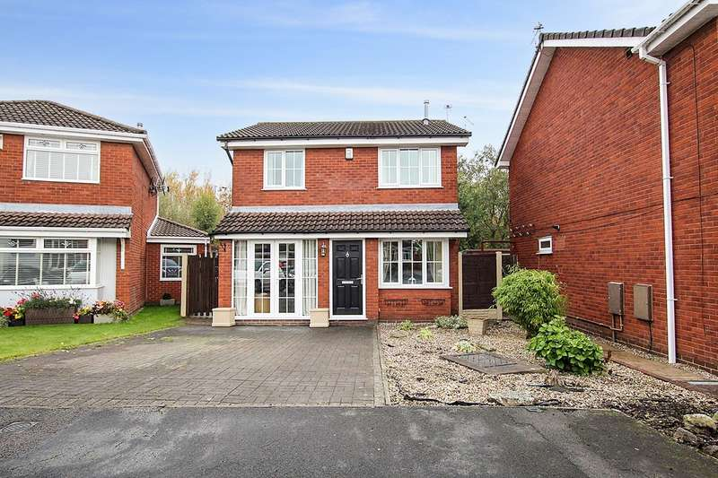 3 Bedrooms Detached House for sale in Highwoods Close, Ashton-in-Makerfield, Wigan, WN4