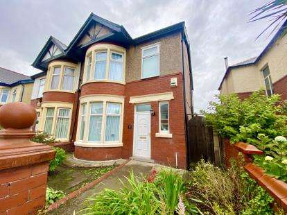 3 Bedrooms Semi Detached House for sale in Argyll Road, Blackpool, Lancashire, FY2