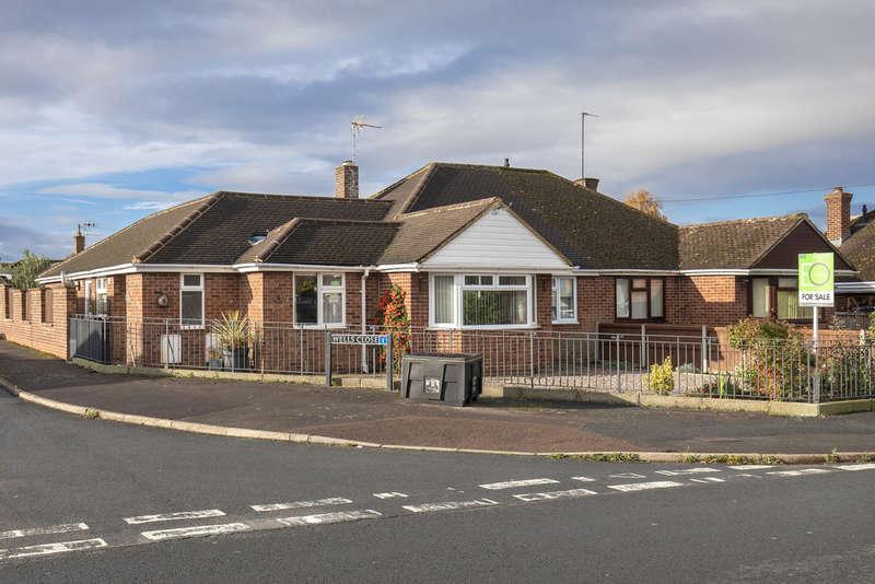4 Bedrooms Semi Detached Bungalow for sale in Salisbury Avenue, Cheltenham GL51 3BT