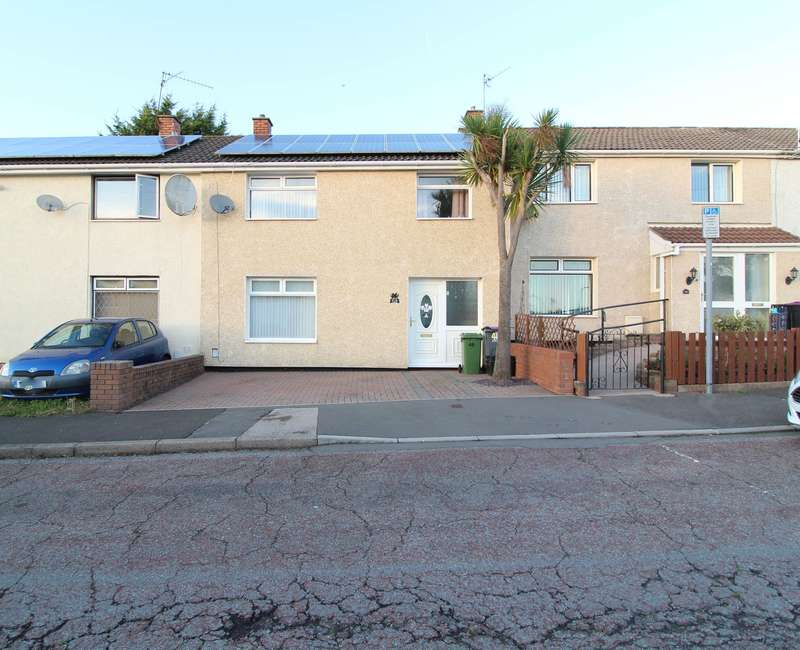 3 Bedrooms Terraced House for sale in Waun Road, Cwmbran