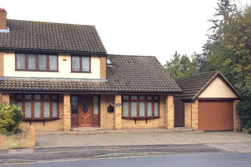 4 Bedrooms Semi Detached House for sale in Herons Wood, Harlow, CM20