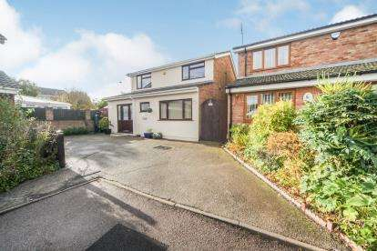 4 Bedrooms Detached House for sale in Rotherwood Close, Dunstable, Bedfordshire