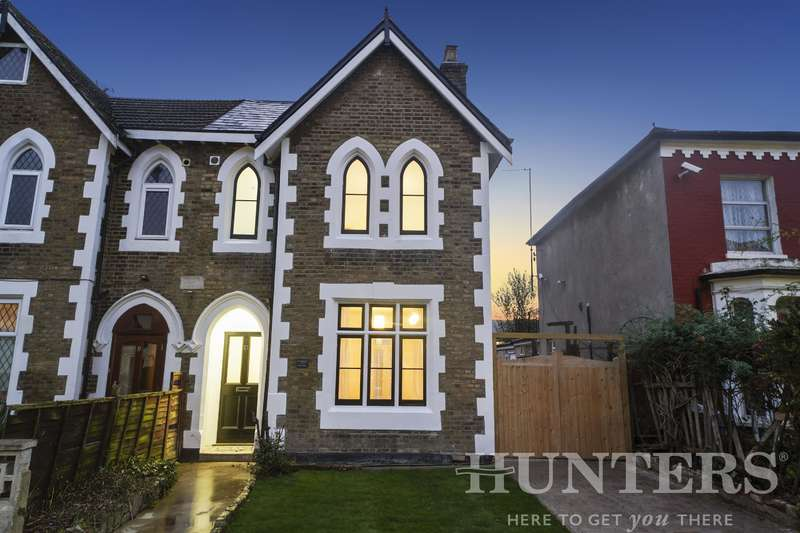 3 Bedrooms Semi Detached House for sale in Summerhill Road, London, N15