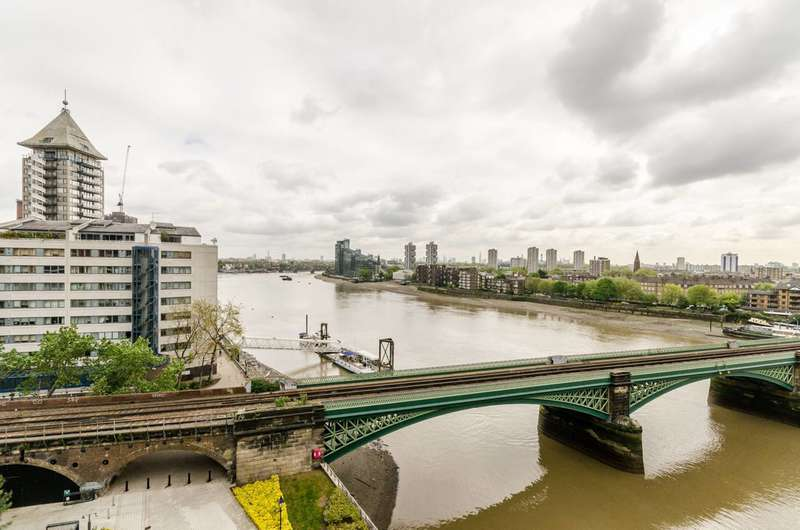 3 Bedrooms Flat for rent in Waterside Tower, Imperial Wharf, SW6