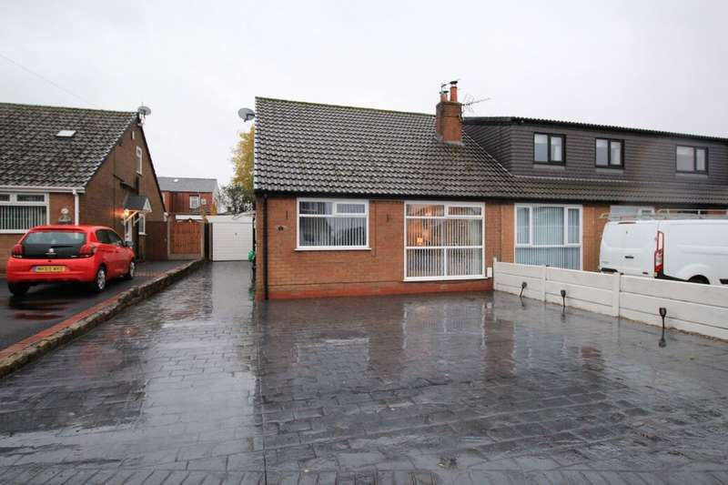 2 Bedrooms Semi Detached Bungalow for sale in Ulleswater Close, Little Lever, Bolton, BL3