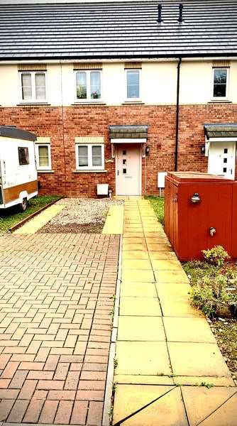 2 Bedrooms Terraced House for sale in Overstreet Green, Lydney, Gloucestershire, GL15