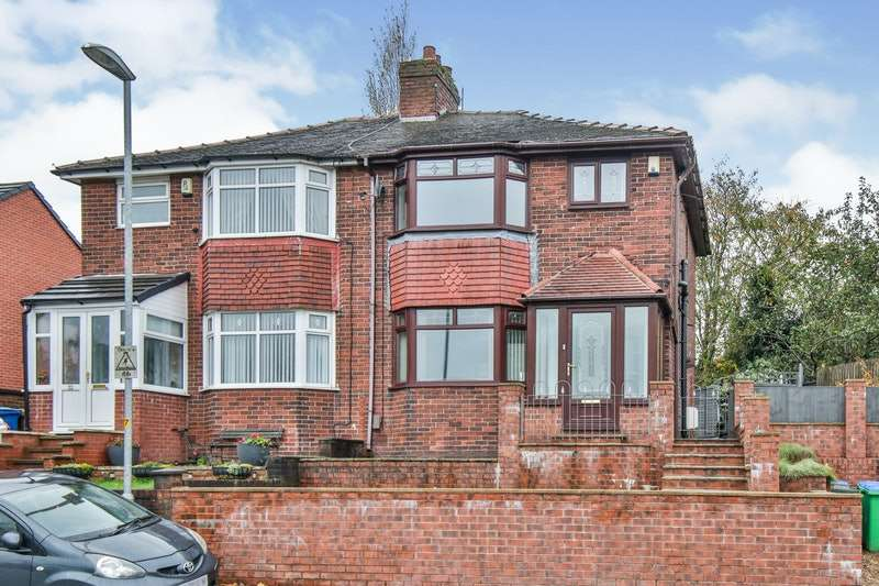 3 Bedrooms Semi Detached House for sale in Hartley Lane, Rochdale, Greater Manchester, OL11