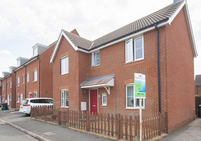 4 Bedrooms Detached House for sale in Ardent Road, Whitfield, CT16