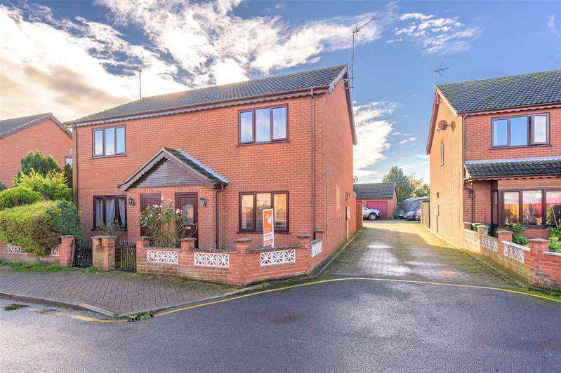 2 Bedrooms Semi Detached House for sale in Post Office Lane, Spilsby