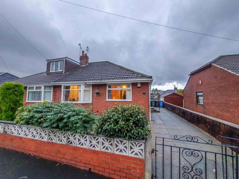 2 Bedrooms Semi Detached Bungalow for sale in Leesway, Lees, Oldham, OL4 5BQ