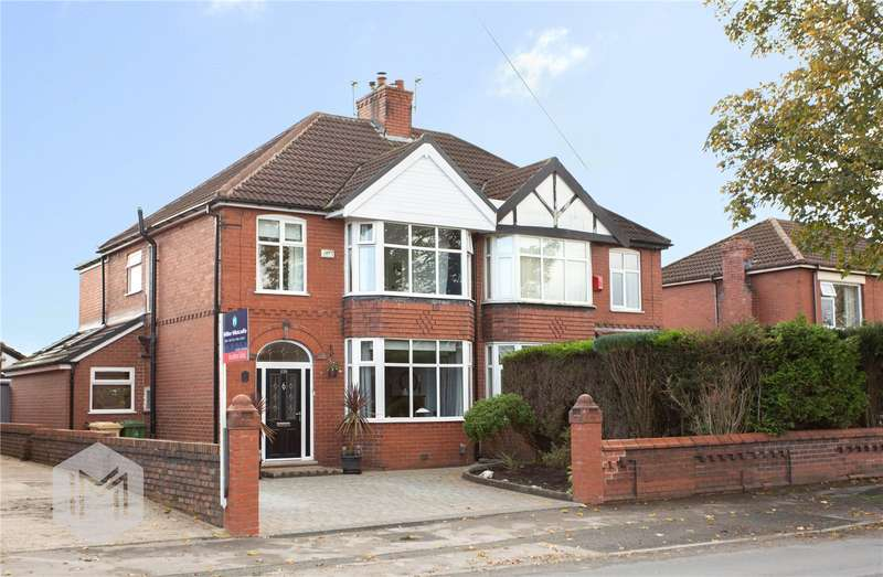 4 Bedrooms Semi Detached House for sale in Tong Road, Little Lever, Bolton, BL3