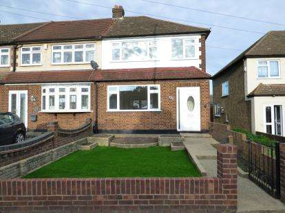3 Bedrooms End Of Terrace House for sale in Rainham, Essex