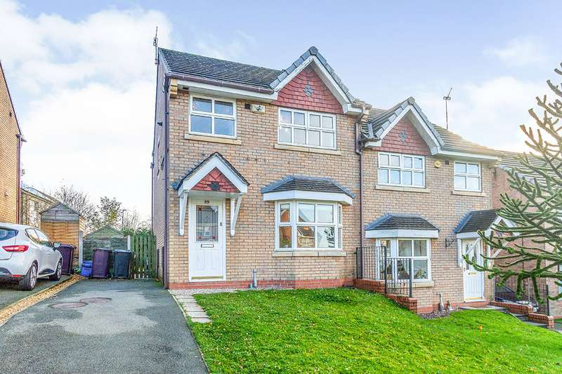 3 Bedrooms Semi Detached House for sale in Aspen Drive, Burnley, Lancashire, BB10