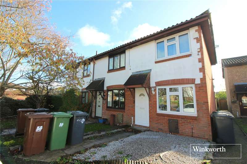 2 Bedrooms End Of Terrace House for sale in Siskin Close, Borehamwood, WD6