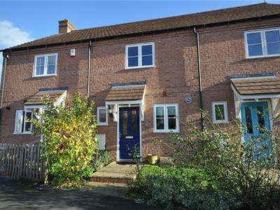 2 Bedrooms Terraced House for rent in Rose Hill Way, Mawsley, Kettering