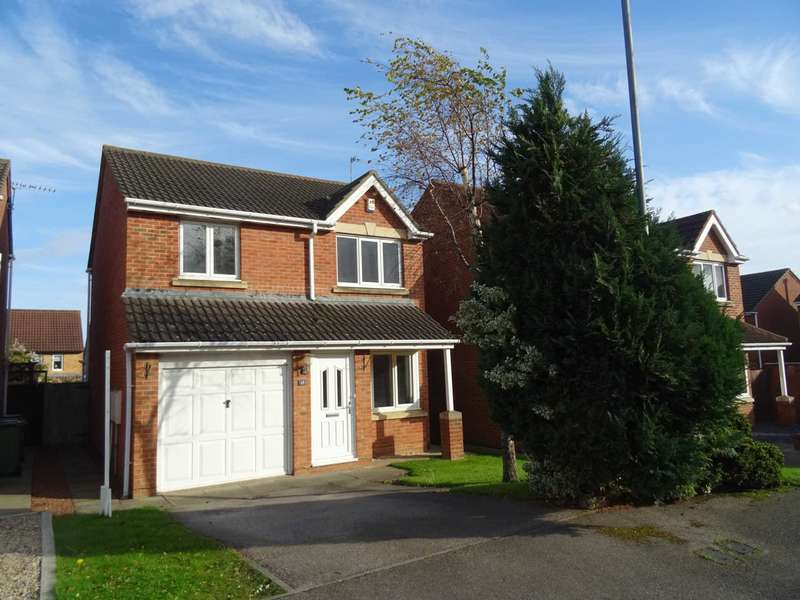 3 Bedrooms Detached House for rent in Swallow Close, Hartlepool