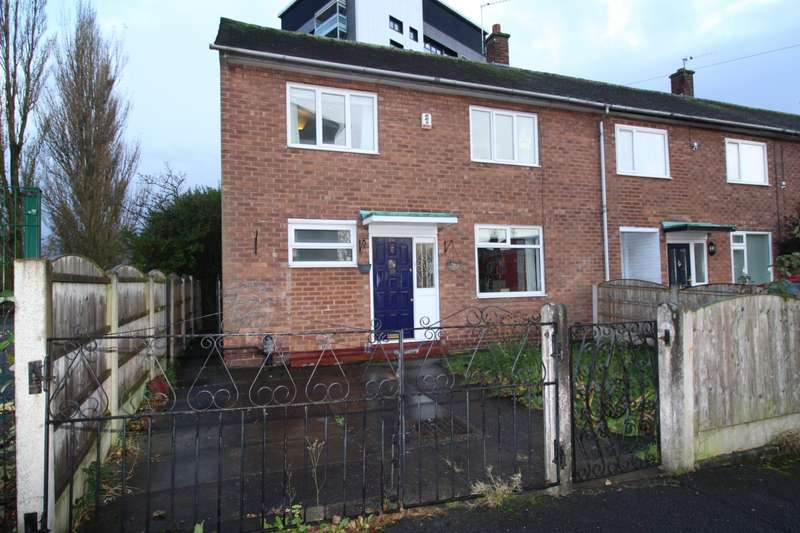3 Bedrooms End Of Terrace House for sale in Bishopton Close, Levenshulme, Manchester, M19