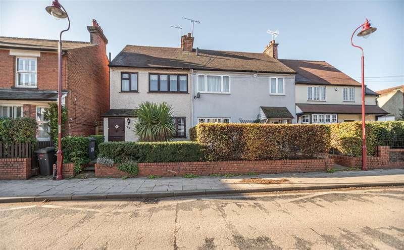3 Bedrooms End Of Terrace House for sale in Watling Street, RADLETT