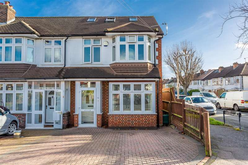 5 Bedrooms End Of Terrace House for sale in Henley Avenue, Cheam, Sutton