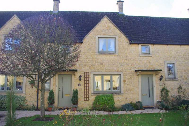 2 Bedrooms Terraced House for sale in Chardwar Gardens, Bourton-on-the-Water, Gloucestershire