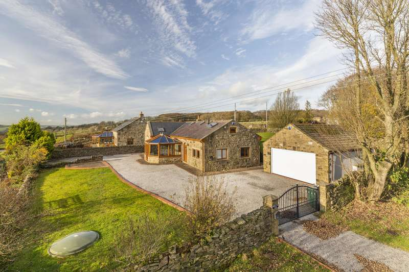 5 Bedrooms Detached House for sale in Brownhill Barn, Streetlane, West Morton, BD20 5UP