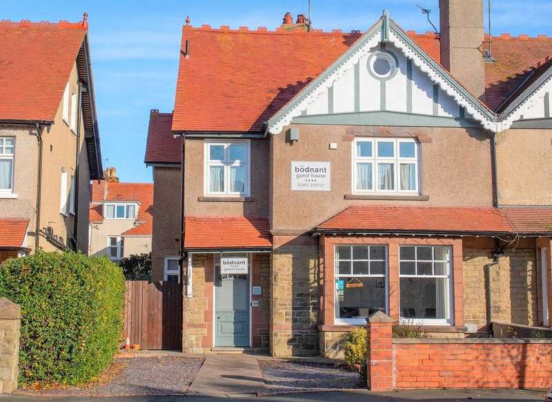 6 Bedrooms Semi Detached House for sale in St. Marys Road, Llandudno, Conwy, LL30