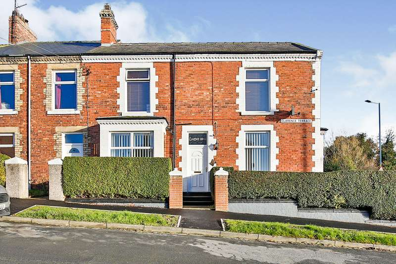 3 Bedrooms End Of Terrace House for sale in Clarence Terrace, Willington, Crook, Durham, DL15