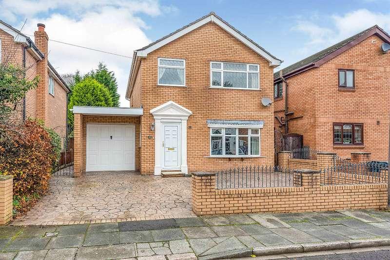 4 Bedrooms Detached House for sale in Derby Road, Skelmersdale, WN8