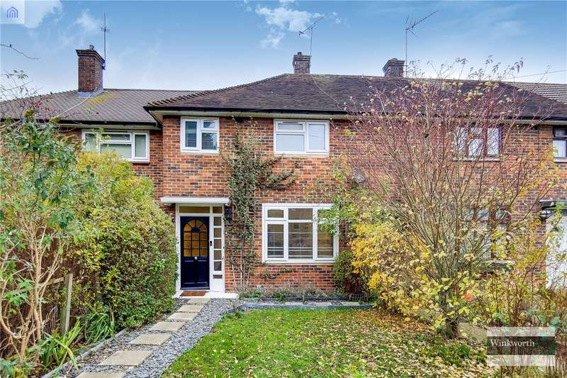 2 Bedrooms Terraced House for sale in Knebworth Path, Borehamwood, Hertfordshire, WD6