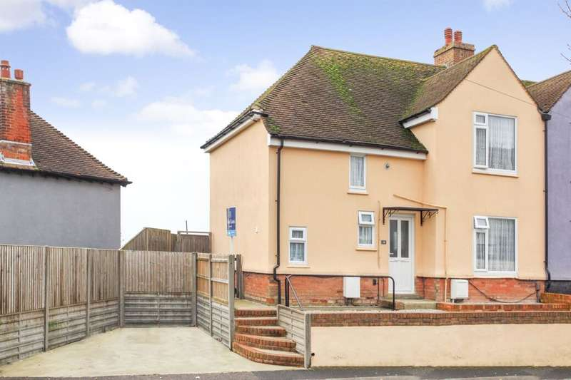 3 Bedrooms Semi Detached House for sale in Calgary Crescent, Folkestone, CT19