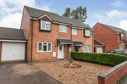 3 Bedrooms Semi Detached House for sale in Woodpecker Road, Podsmead, Gloucester, Gloucestershire